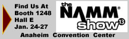 find us at the namm show